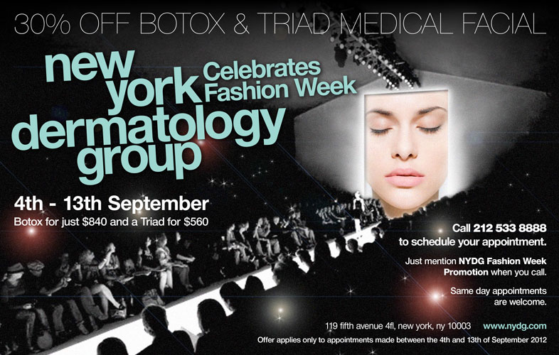 Fashion Week Botox Discount