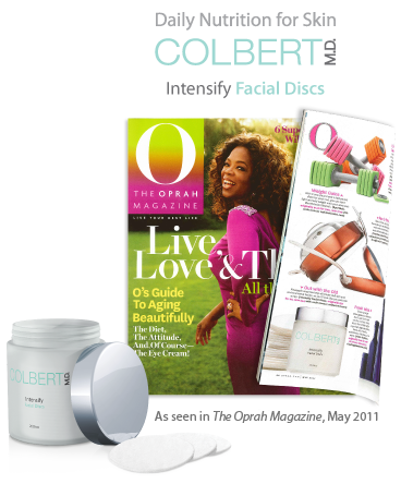 Colbert MD Facial discs featured in Oprah Magazine