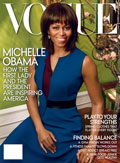 Colbert MD Day Cream featured as the best cream for the beach in Vogue Magazine with Michelle Obama at the cover