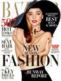 Harper's Bazaar February 2015