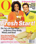 Oprah Magazine January 2012