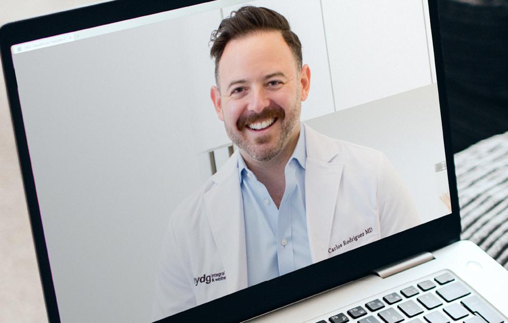 Telemedicine appointment request